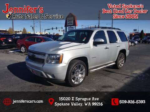 2011 Chevrolet Tahoe for sale at Jennifer's Auto Sales in Spokane Valley WA