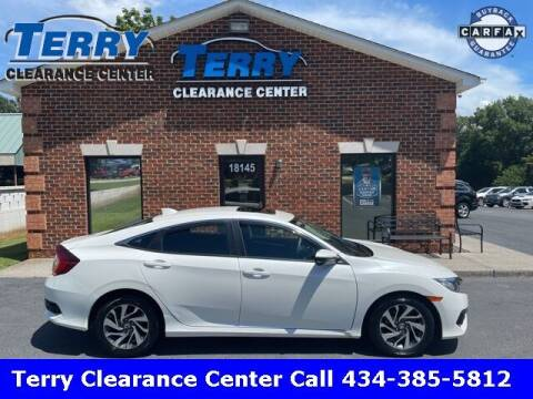 2017 Honda Civic for sale at Terry Clearance Center in Lynchburg VA