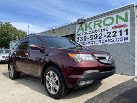 2007 Acura MDX for sale at Akron Motorcars Inc. in Akron OH