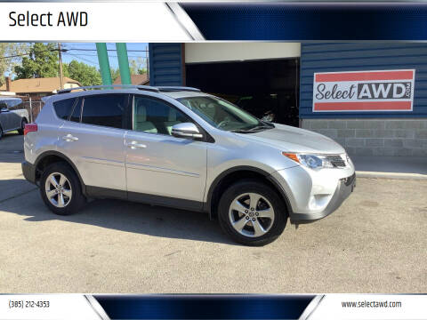 2015 Toyota RAV4 for sale at Select AWD in Provo UT