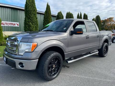 2013 Ford F-150 for sale at AUTOTRACK INC in Mount Vernon WA