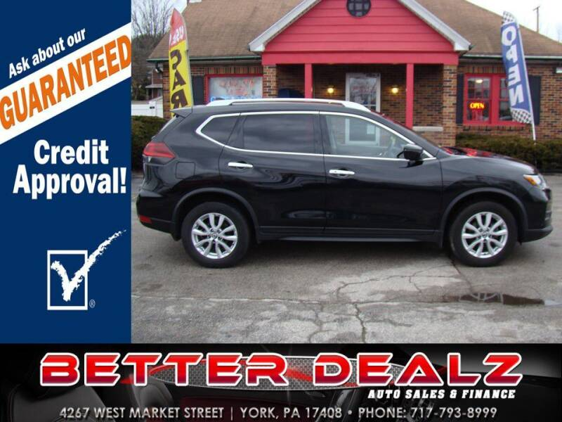 2018 Nissan Rogue for sale at Better Dealz Auto Sales & Finance in York PA