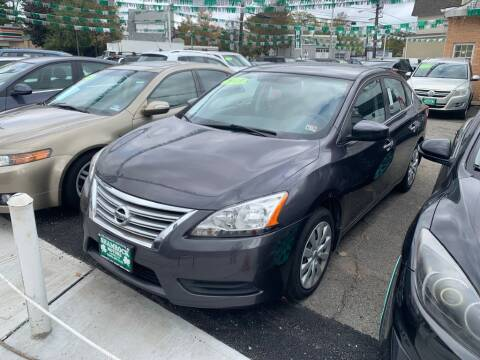 2013 Nissan Sentra for sale at Park Avenue Auto Lot Inc in Linden NJ