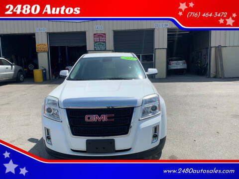 2012 GMC Terrain for sale at 2480 Autos in Kenmore NY