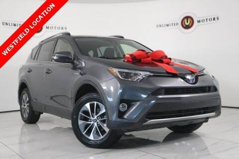 2018 Toyota RAV4 Hybrid for sale at INDY'S UNLIMITED MOTORS - UNLIMITED MOTORS in Westfield IN