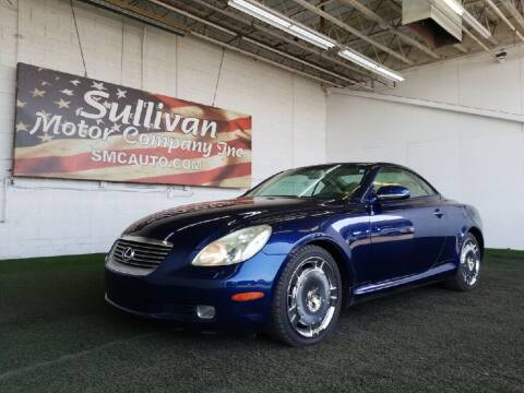 2003 Lexus SC 430 for sale at SULLIVAN MOTOR COMPANY INC. in Mesa AZ