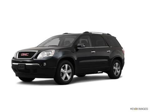 2012 GMC Acadia for sale at Jamerson Auto Sales in Anderson IN