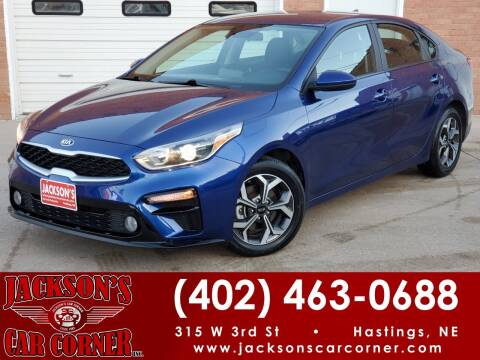2019 Kia Forte for sale at Jacksons Car Corner Inc in Hastings NE