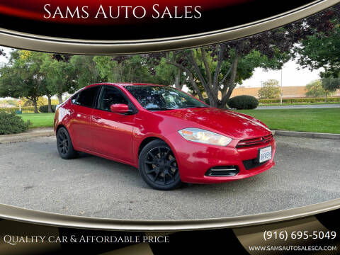 2013 Dodge Dart for sale at Sams Auto Sales in North Highlands CA