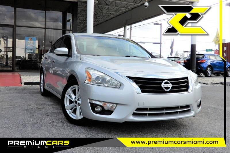 2015 Nissan Altima for sale at Premium Cars of Miami in Miami FL