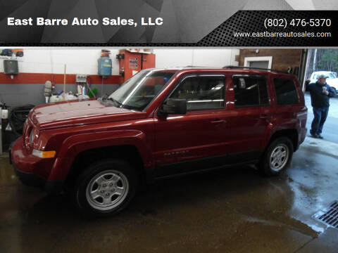 2014 Jeep Patriot for sale at East Barre Auto Sales, LLC in East Barre VT