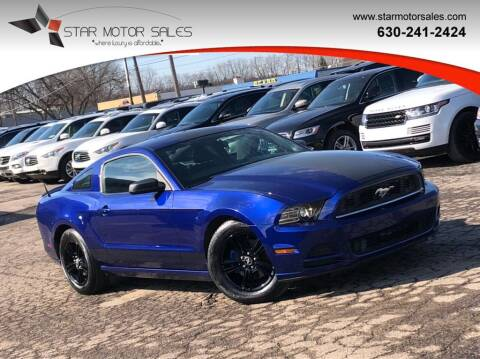 2013 Ford Mustang for sale at Star Motor Sales in Downers Grove IL