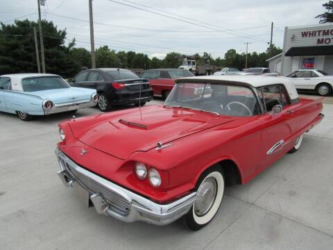 1959 Ford Thunderbird for sale at Whitmore Motors in Ashland OH