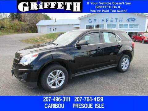2015 Chevrolet Equinox for sale at Griffeth Mitsubishi - Pre-owned in Caribou ME