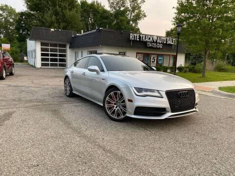 2014 Audi A7 for sale at Rite Track Auto Sales in Canton MI