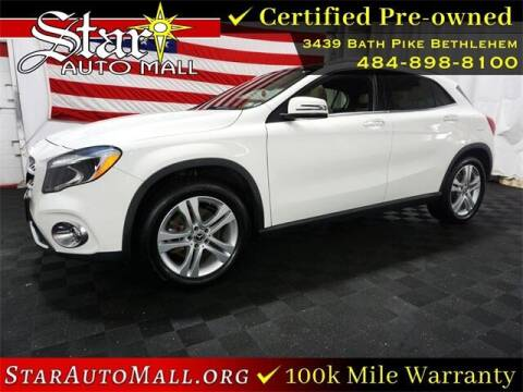 2018 Mercedes-Benz GLA for sale at STAR AUTO MALL 512 in Bethlehem PA
