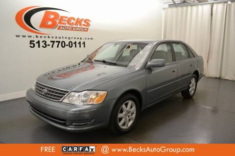 2004 Toyota Avalon for sale at Becks Auto Group in Mason OH