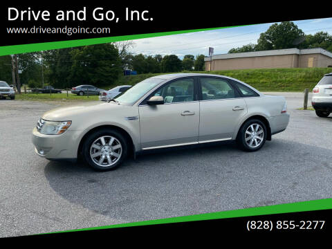 2009 Ford Taurus for sale at Drive and Go, Inc. in Hickory NC