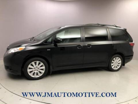 2017 Toyota Sienna for sale at J & M Automotive in Naugatuck CT