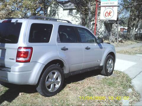 2008 Ford Escape for sale at D & D Auto Sales in Topeka KS