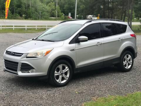 2014 Ford Escape for sale at 912 Auto Sales in Douglas GA