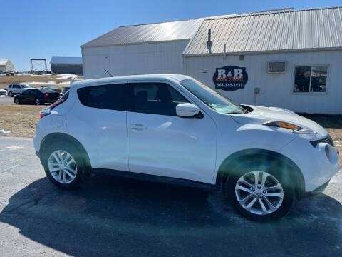 2016 Nissan JUKE for sale at B & B Sales 1 in Decorah IA