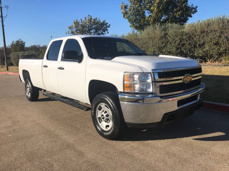 2013 Chevrolet Silverado 2500HD for sale at Taylor Investments in Plano TX