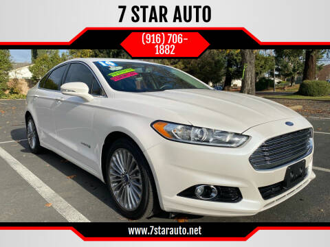 2014 Ford Fusion Hybrid for sale at 7 STAR AUTO in Sacramento CA