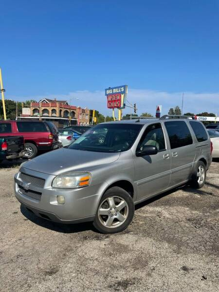 2007 Chevrolet Uplander for sale in Milwaukee, WI