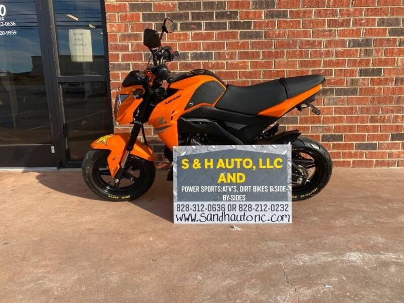 2019 Kawasaki Z125 for sale at S & H AUTO LLC in Granite Falls NC
