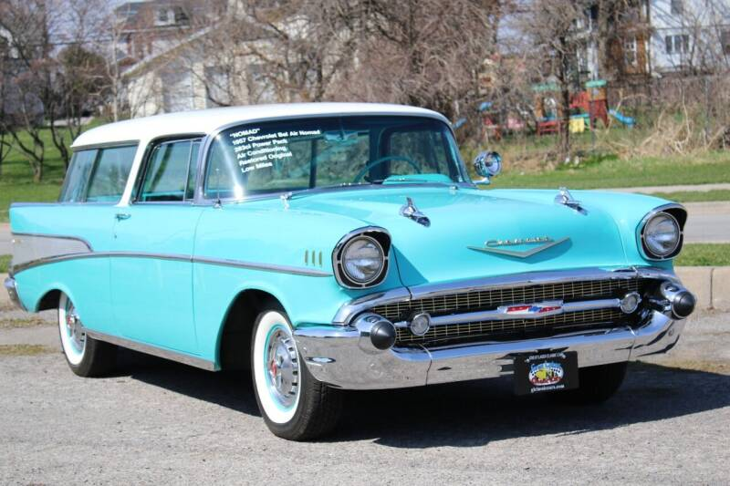 1957 Chevrolet Nomad for sale at Great Lakes Classic Cars & Detail Shop in Hilton NY