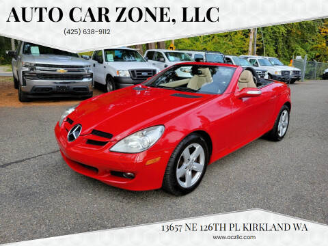 2007 Mercedes-Benz SLK for sale at Auto Car Zone, LLC in Kirkland WA
