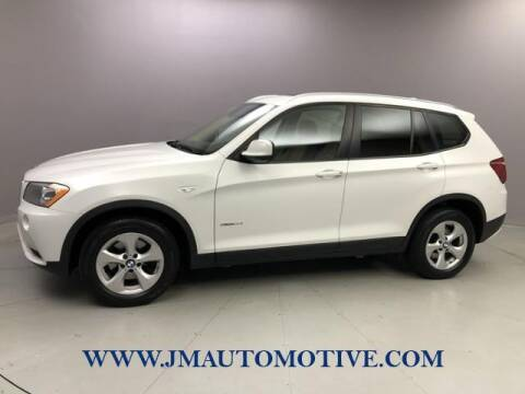 2012 BMW X3 for sale at J & M Automotive in Naugatuck CT