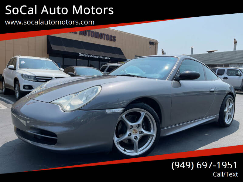 2004 Porsche 911 for sale at SoCal Auto Motors in Costa Mesa CA