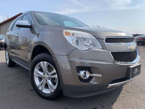 2011 Chevrolet Equinox for sale at LUXURY IMPORTS in Hermantown MN