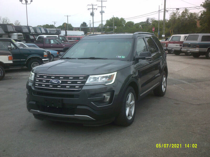 2016 Ford Explorer for sale at M & M Inc. of York in York PA
