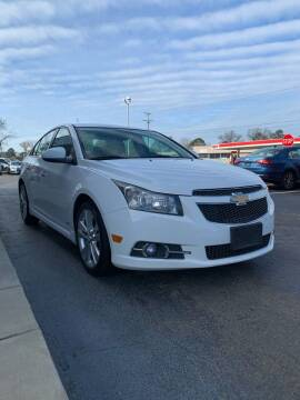 2013 Chevrolet Cruze for sale at City to City Auto Sales in Richmond VA