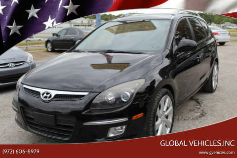 2011 Hyundai Elantra Touring for sale at Global Vehicles,Inc in Irving TX