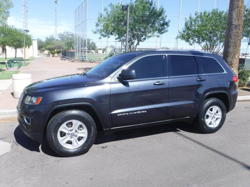 2014 Jeep Grand Cherokee for sale at J & E Auto Sales in Phoenix AZ