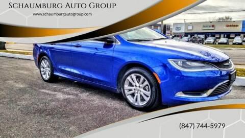 2015 Chrysler 200 for sale at Schaumburg Auto Group in Schaumburg IL