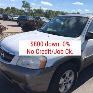 2004 Mazda Tribute for sale at D & J AUTO EXCHANGE in Columbus IN