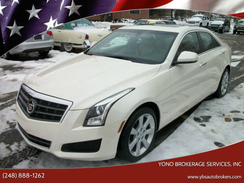 2014 Cadillac ATS for sale at Yono Brokerage Services, INC in Farmington MI