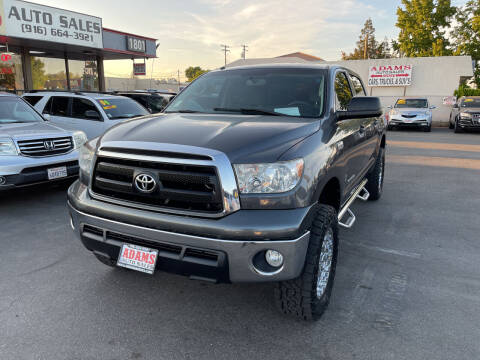 2011 Toyota Tundra for sale at Adams Auto Sales in Sacramento CA