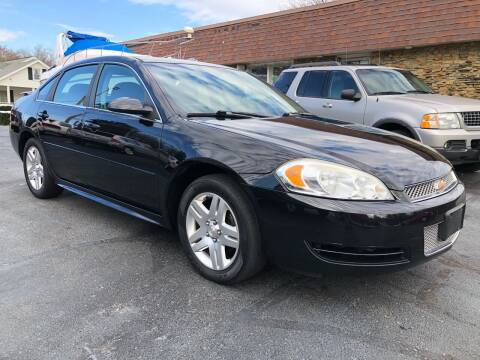 2013 Chevrolet Impala for sale at Approved Motors in Dillonvale OH