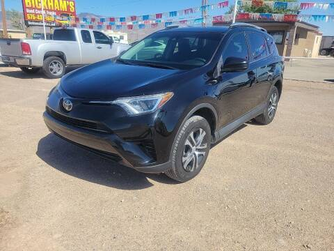 2017 Toyota RAV4 for sale at Bickham Used Cars in Alamogordo NM