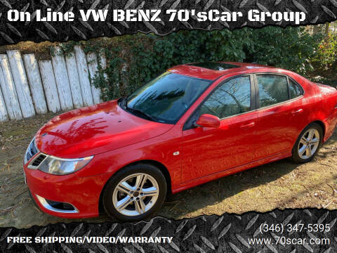 2009 Saab 9-3 for sale at On Line VW BENZ 70's Group in Warehouse CA