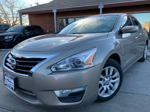 2014 Nissan Altima for sale at Global Automotive Imports of Denver in Denver CO