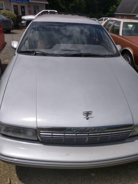 1991 Chevrolet Caprice for sale at Delgato Auto in Pittsboro NC