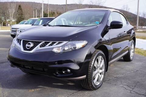 2014 Nissan Murano CrossCabriolet for sale at Hillside Motors in Campbell NY