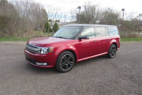2013 Ford Flex for sale at Clearwater Motor Car in Jamestown NY